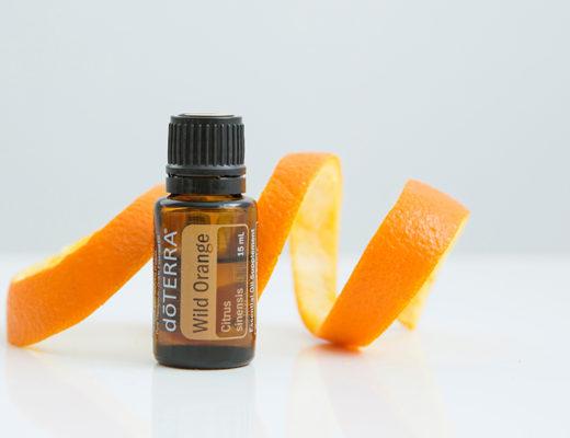 olio essenziale arancio dolce wild orange doterra